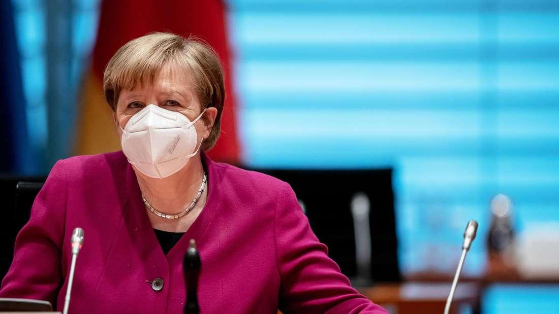 Corona-Gipfel: Angela Merkel verkündet Lockerungen – knüpft diese aber an Bedingungen.