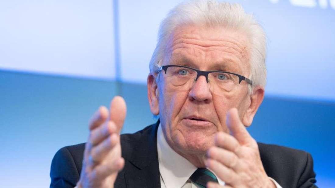 Winfried Kretschmann (72, Grüne) sieht in der Masken-Affäre der CDU kein strukturelles Problem.