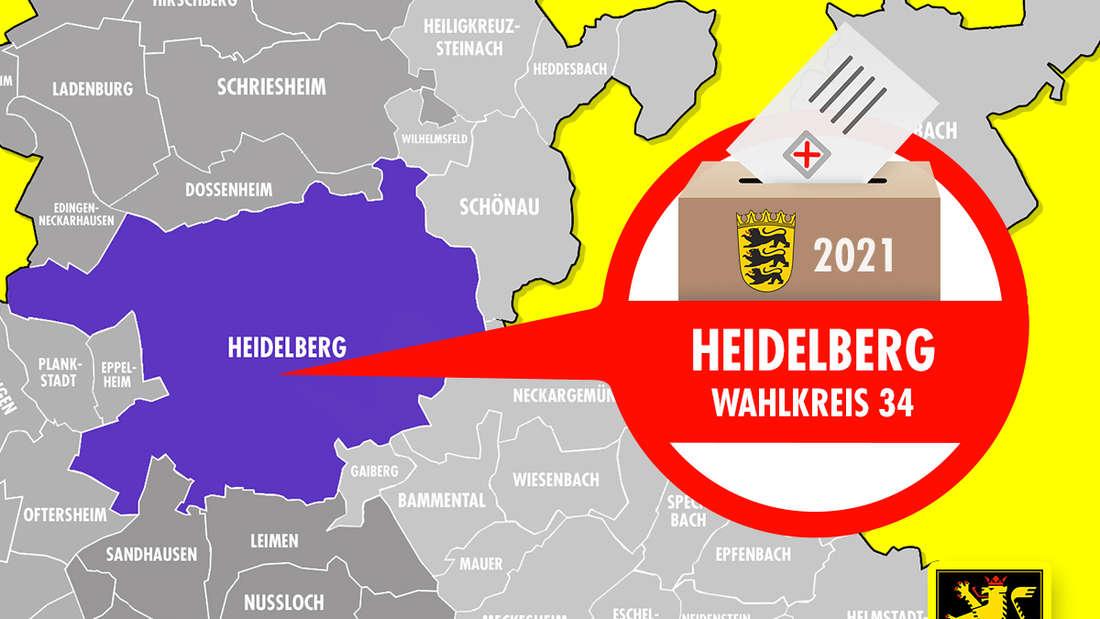 Im Wahlkreis 34 Heidelberg sind ca. 99.000 Menschen wahlberechtigt.
