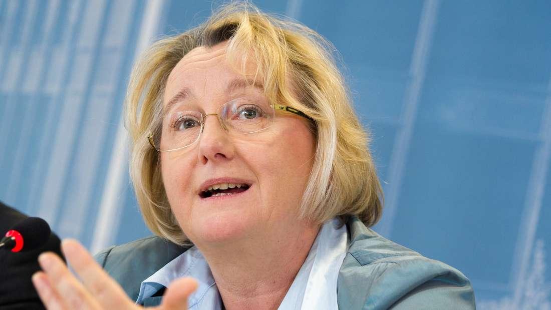 Die baden-württembergische Grünen-Wissenschaftsministerin Theresia Bauer aus Heidelberg.