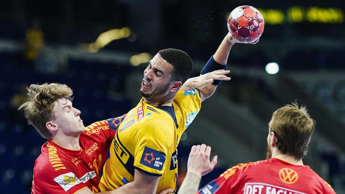 Hartes Duell: Philipp Ahouansou beim European-League-Spiel gegen Svendborg.