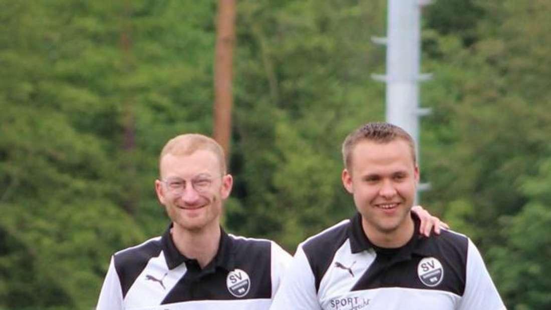 Dustin Paczulla (r.) während seiner Zeit beim SV Sandhausen.