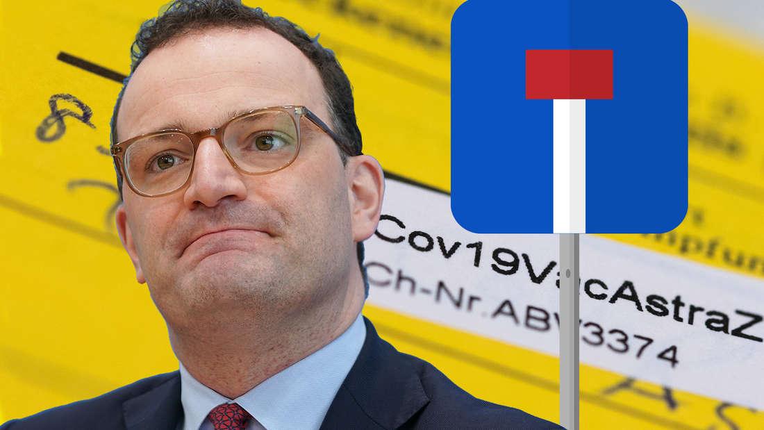 Bundesgesundheitsminister Jens Spahn schaut zerknirscht. Seine Corona-Politik steht scharf in der Kritik