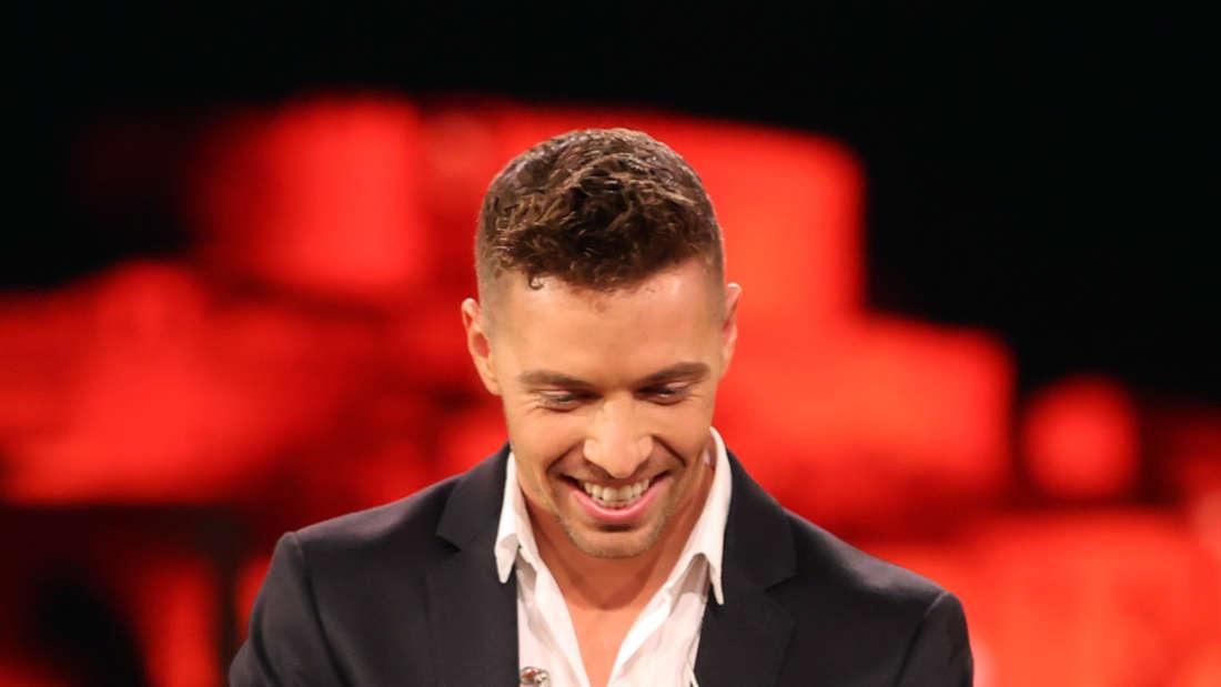 """Ramon Roselly bei der Verleihung der """"Goldene Henne"""""""