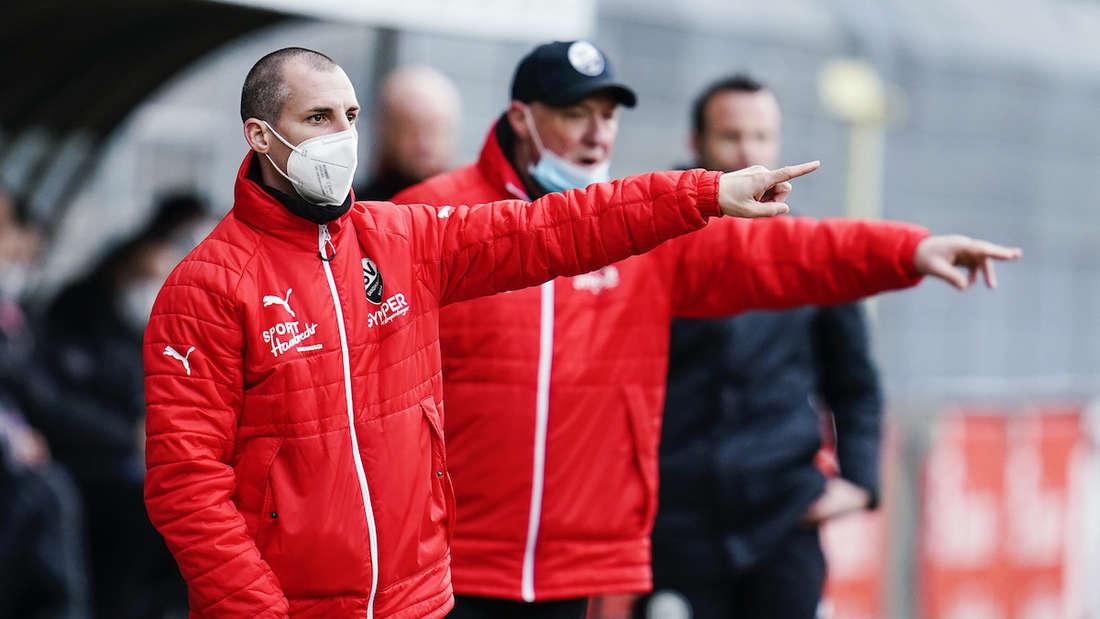 Spieler und Trainerstab des SV Sandhausen müssen für zwei Wochen in Quarantäne.