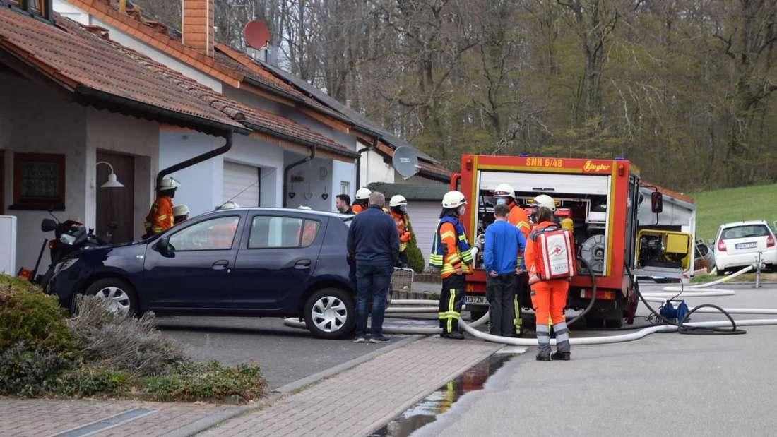 Bei einem Wohnhausbrand am 9. April in Sinsheim ist eine Frau ums Leben gekommen.