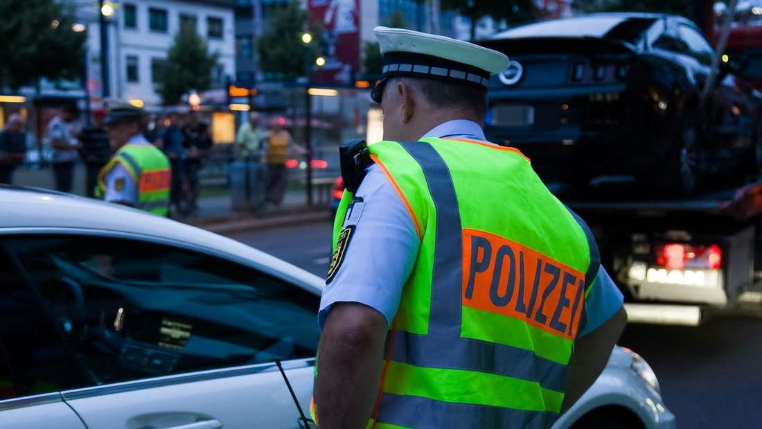 Poser-Kontrolle in Mannheim (Archivbild).