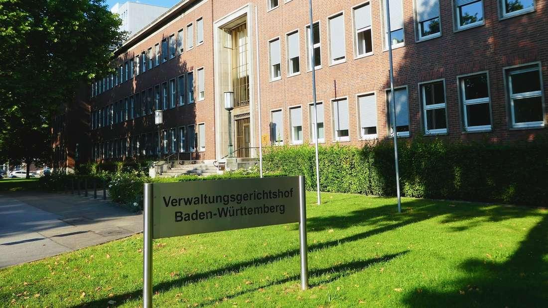 Der Verwaltungsgerichtshof Baden-Württemberg in Mannheim.