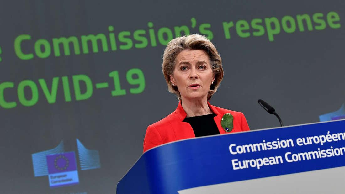 Ursula von der Leyen in der EU-Kommission.
