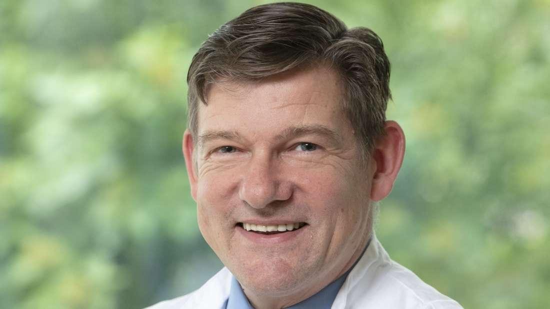 Prof. Dr. Daniel Rost, Chefarzt für Innere Medizin, Gastroenterologie sowie Leiter des Krisenstabs Corona der GRN-Klinik Schwetzingen.