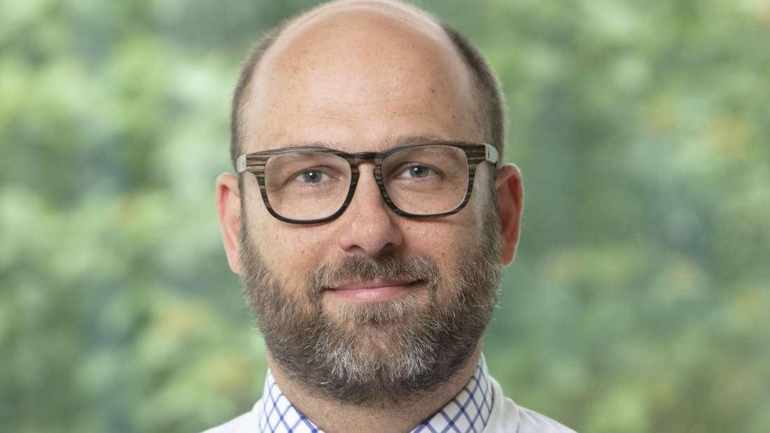 Privatdozent Dr. Christian Bopp, Chefarzt der Anästhesie und Intensivmedizin in der GRN-Klinik Schwetzingen. Foto: GRN