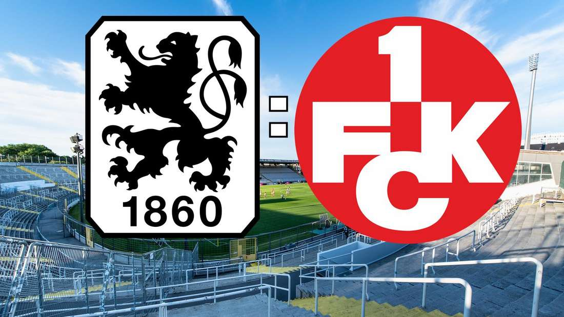Der TSV 1860 München empfängt am Dienstag den 1. FC Kaiserslautern. (Fotomontage)