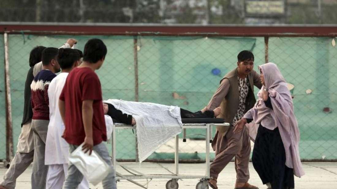 Viele Verletzte