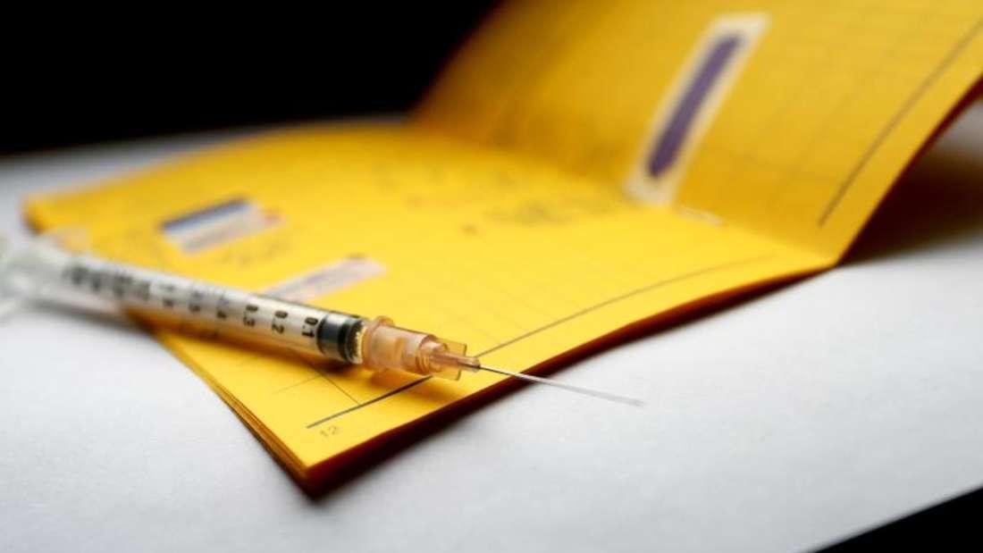 Keine Bilder von Impfpass posten