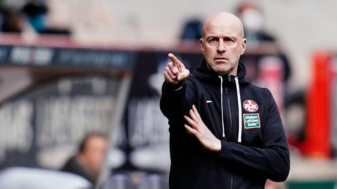 FCK-Trainer Marco Antwerpen trifft mit seinem Team auf Viktoria Köln.