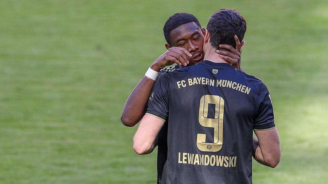 David Alaba verabschiedet sich - Robert Lewandowski knackt den Müller-Rekord endgültig.