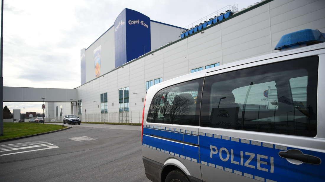 Ein verdächtiges Paket bei ADM Wild in Eppelheim löst einen Großeinsatz aus.