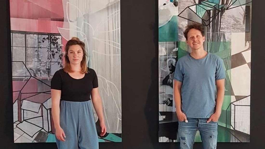 "Valentina Jaffé und René Burjack bilden die Künstlerkooperation ""BuJaffé""."