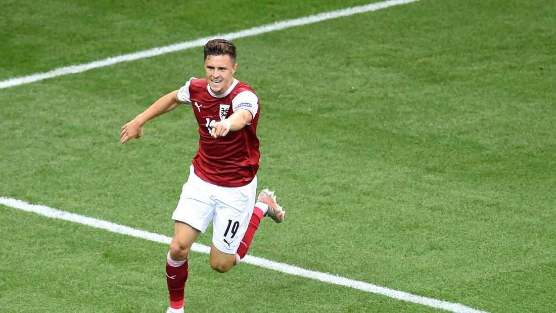 Christoph Baumgartner überzeugt bei der Fußball-EM 2021.