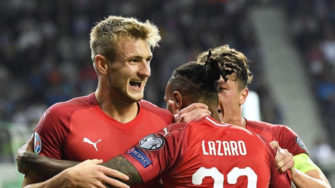 Stefan Posch (li.) ist im ÖFB-Kader für die EM 2021.