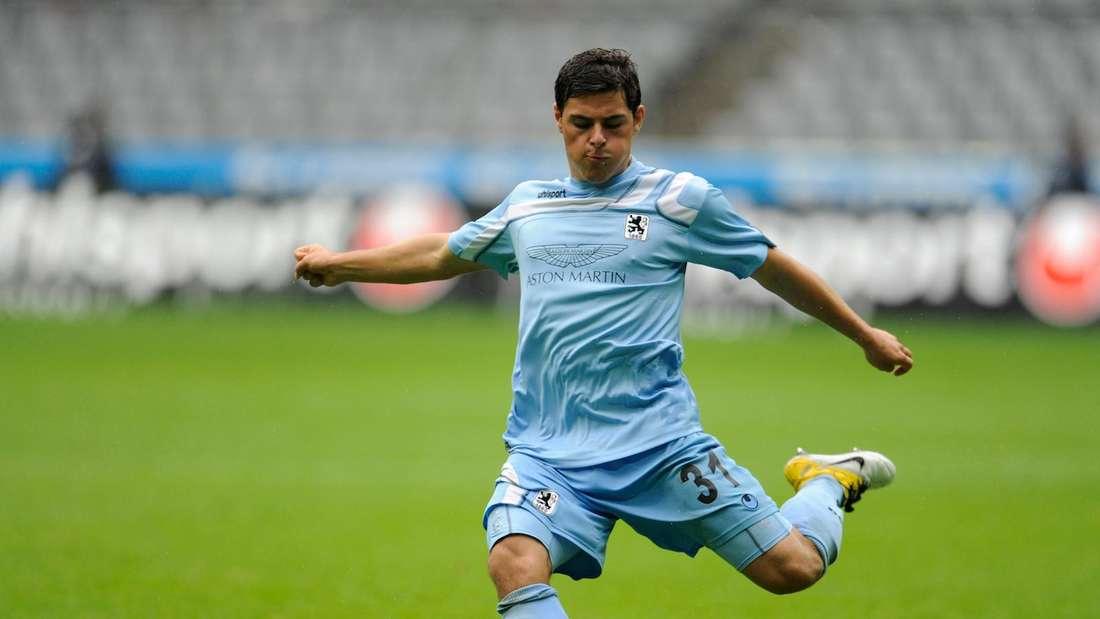 Kevin Volland startet seine Profikarriere beim TSV 1860 München.