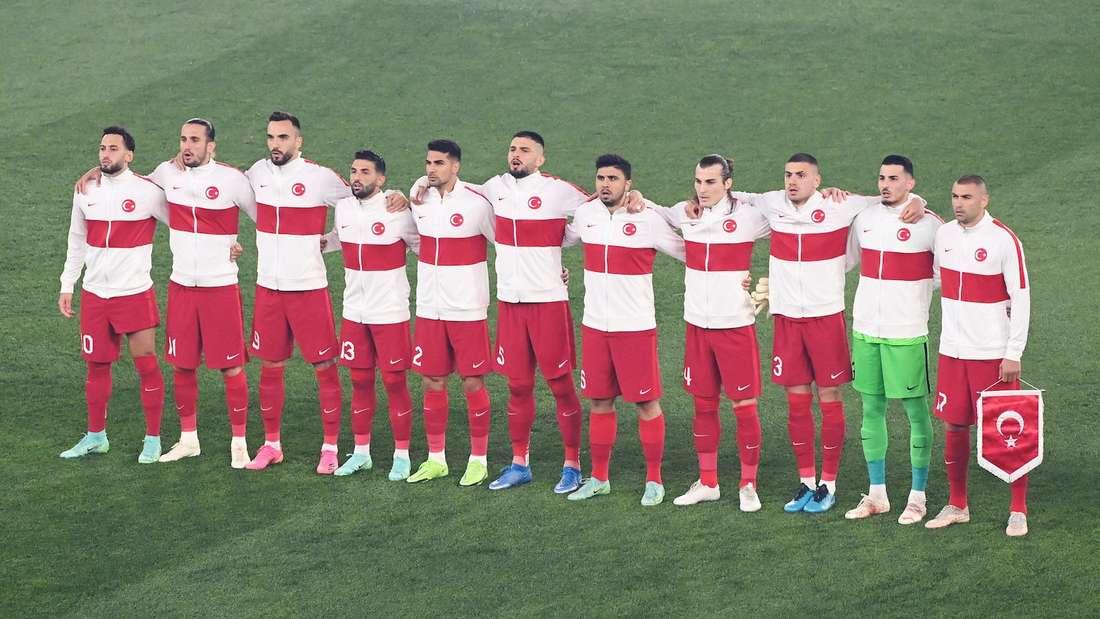 Die Türkei bei der EM 2021.