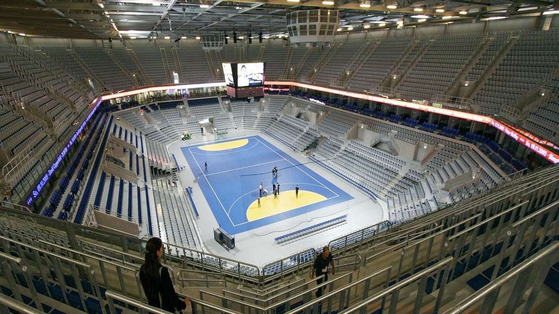 In der SAP Arena werden bei der Handball-EM 2024 einige Spiele stattfinden. (Archivfoto)