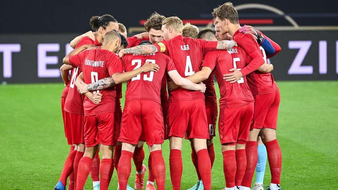 Dänemark trifft bei der EM im ersten Spiel auf Finnland.