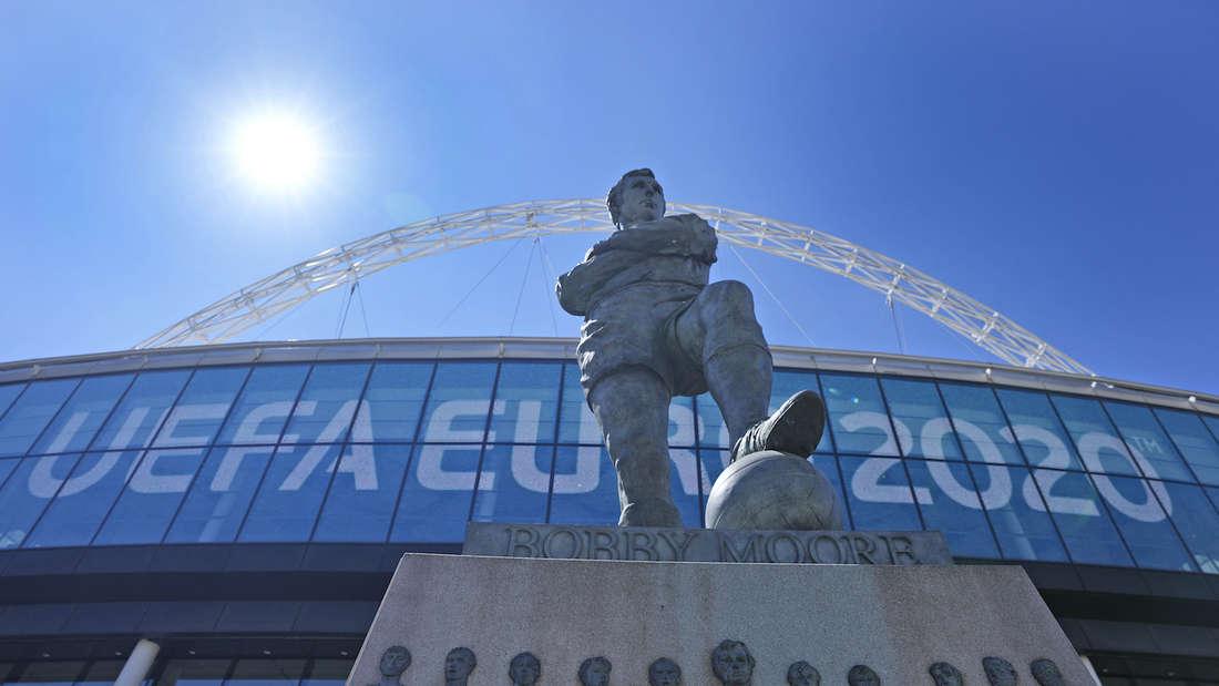 EM: England trifft heute im Wembley-Stadion auf Kroatien.
