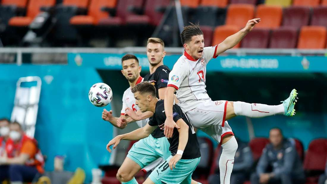 Fußball EM 2021: Österreich - Nordmazedonien