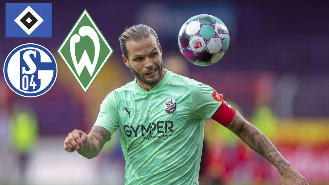 Dennis Diekmeier trifft mit dem SV Sandhausen auf einige Hochkaräter.