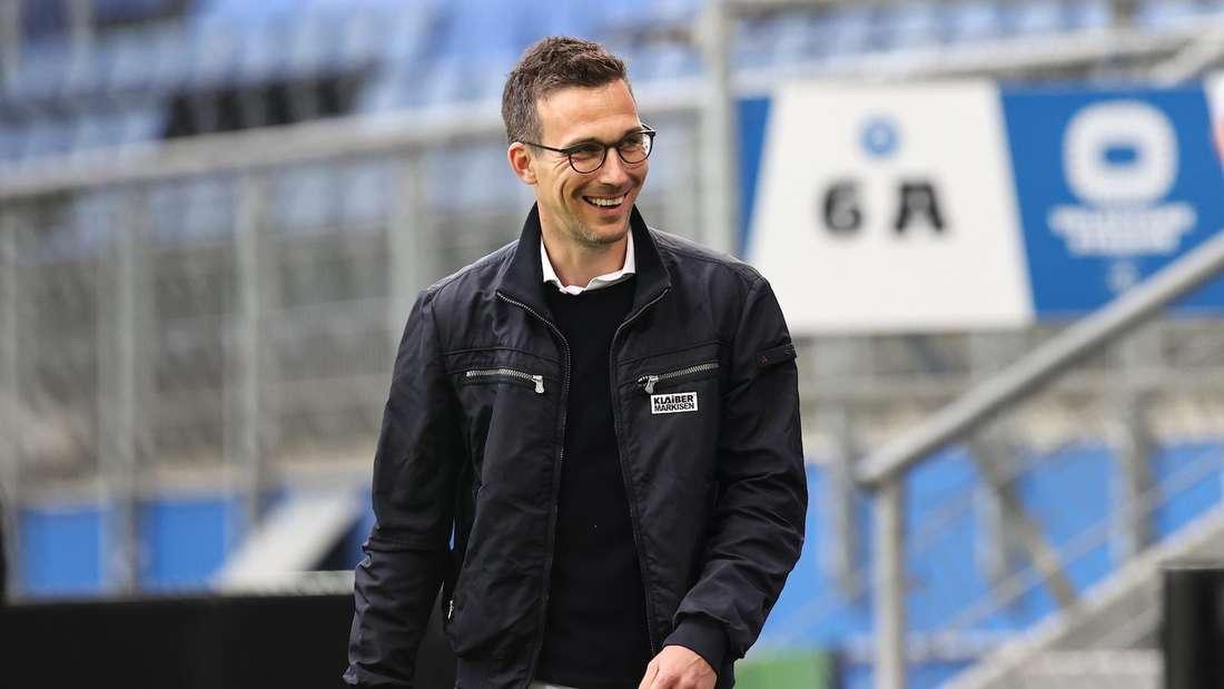 KSC-Trainer Christian Eichner freut sich auf die neue Zweitliga-Saison.