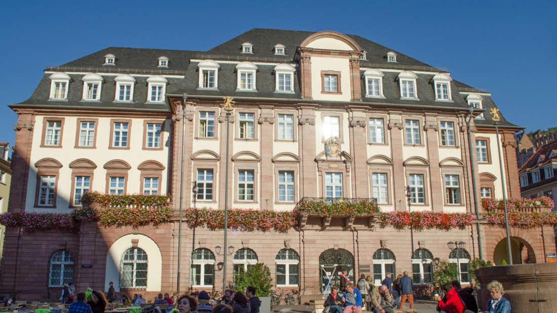 Rathaus, Marktplatz, Heidelberg