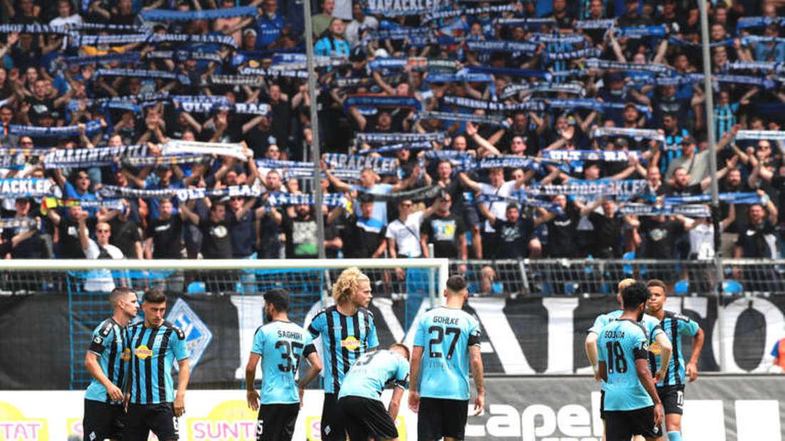Der SV Waldhof in der Saison 2021/22.