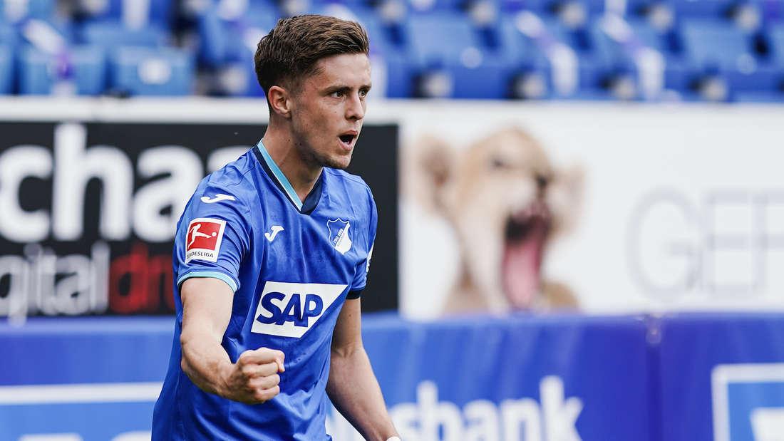 Christoph Baumgartner will mit der TSG Hoffenheim durchstarten.