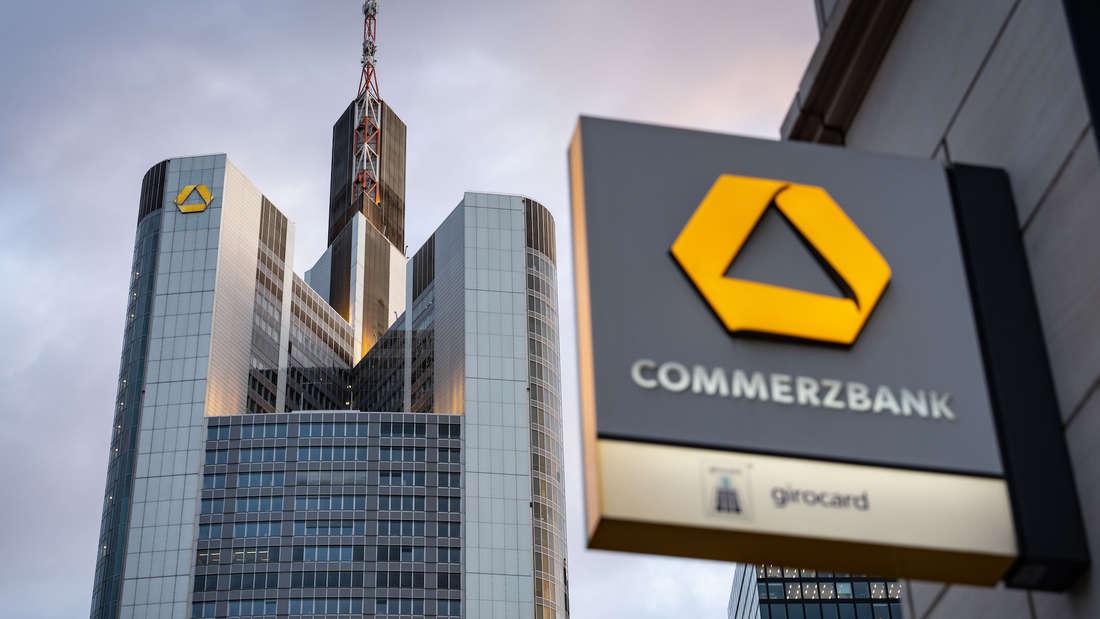 Commerzbank Hochhaus in Frankfurt.