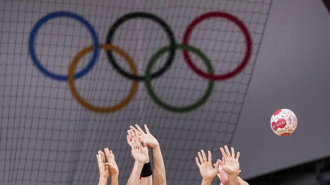 Handball bei Olympia 2021 in Tokio.