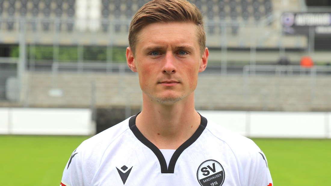 Carlo Sickinger vom SV Sandhausen
