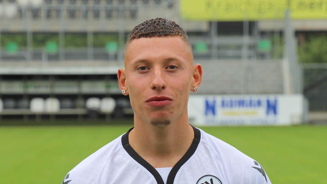 Enrique Pena Zauner vom SV Sandhausen