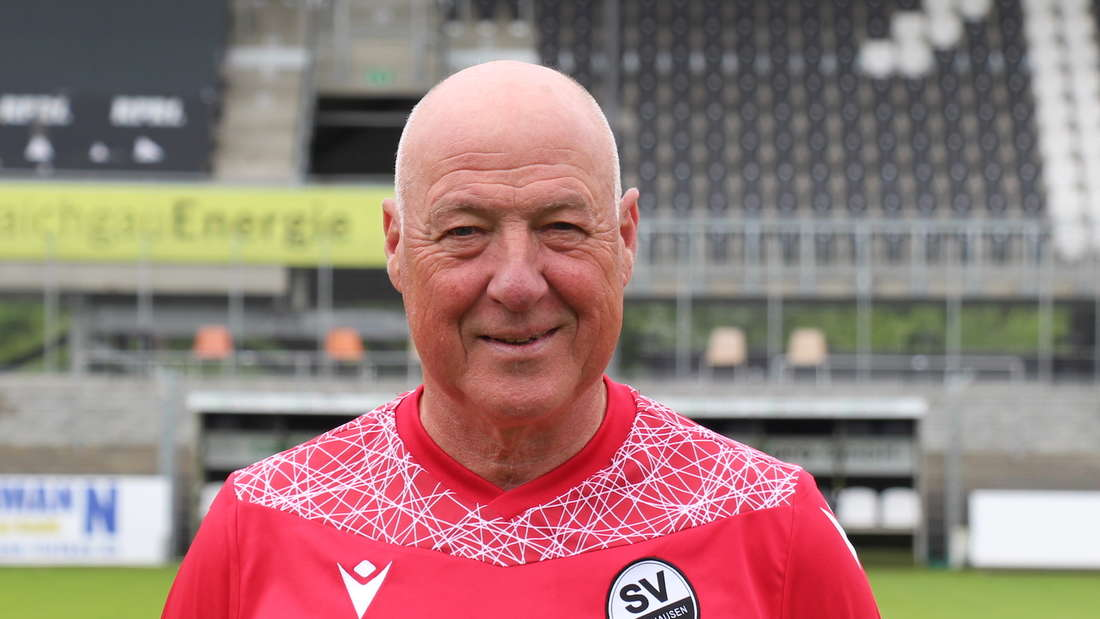 Trainer Gerhard Kleppinger (SV Sandhausen)