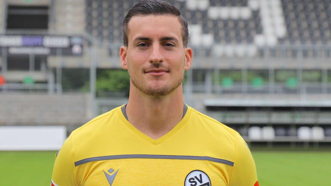 Rick Wulle vom SV Sandhausen