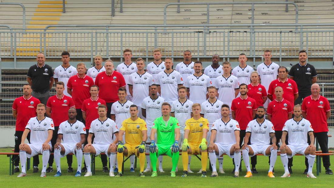 Der SV Sandhausen in der Saison 2021/22.