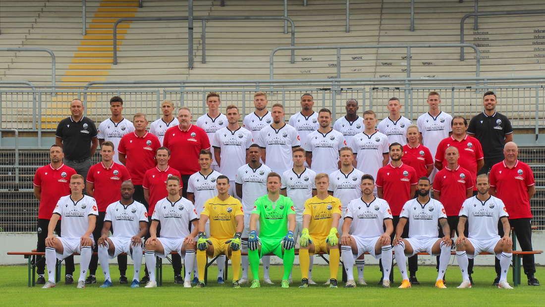 2. Bundesliga: Der SV Sandhausen in der Saison 2021/22.