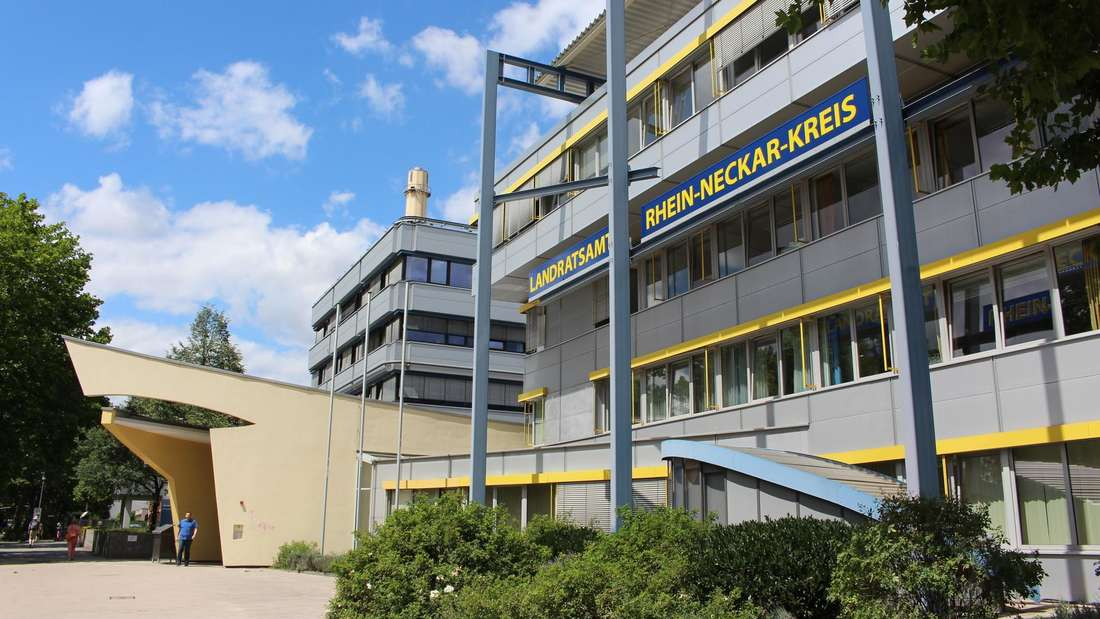 Das Landratsamt Rhein-Neckar-Kreis bittet Kunden, nicht mehr persönlich vorbeizukommen. (Archivfoto)