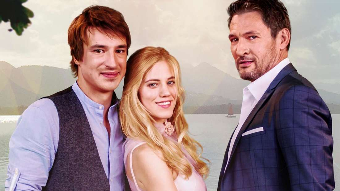 """Viktor, Alicia und Christoph aus Staffel 14 von """"Sturm der Liebe"""""""