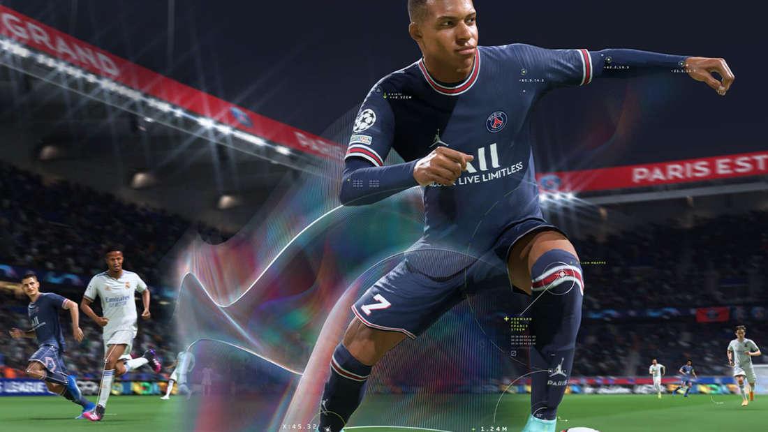 FIFA 22 Kylian Mbappé psg real madrid