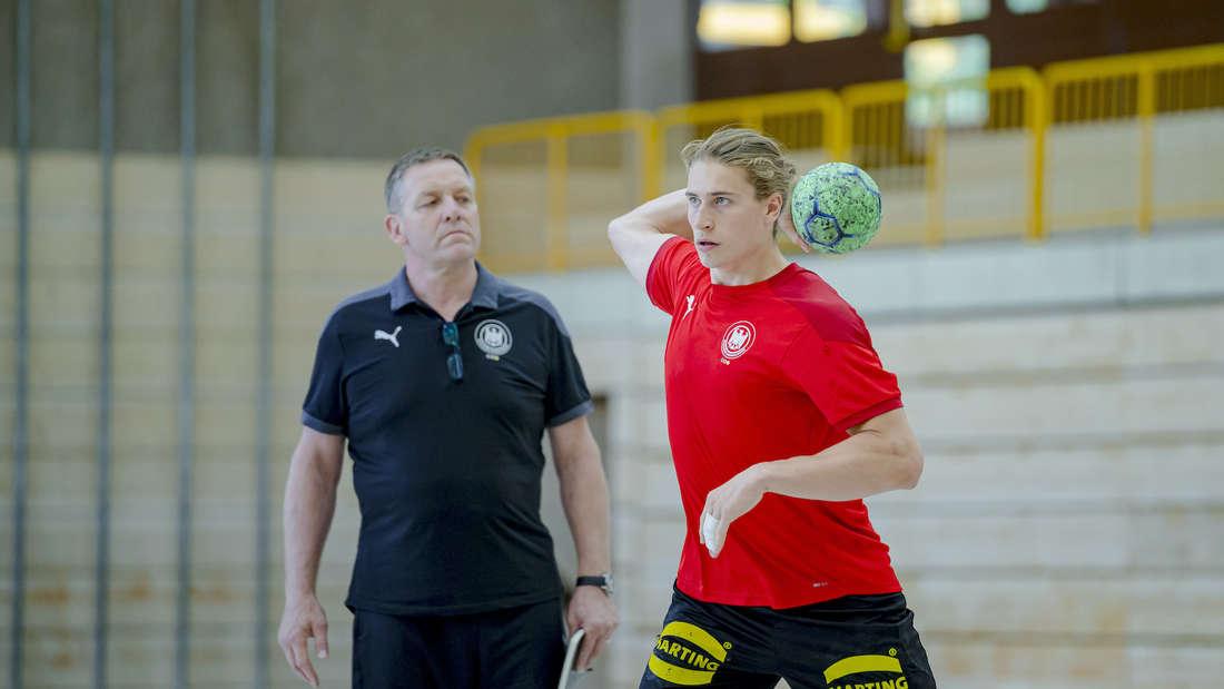 Juri Knorr nimmt mit dem DHB-Team an Olympia teil.