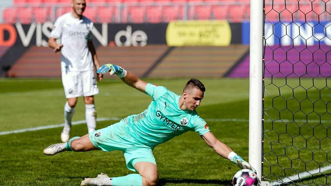 Martin Fraisl ist vom SV Sandhausen suspendiert worden.