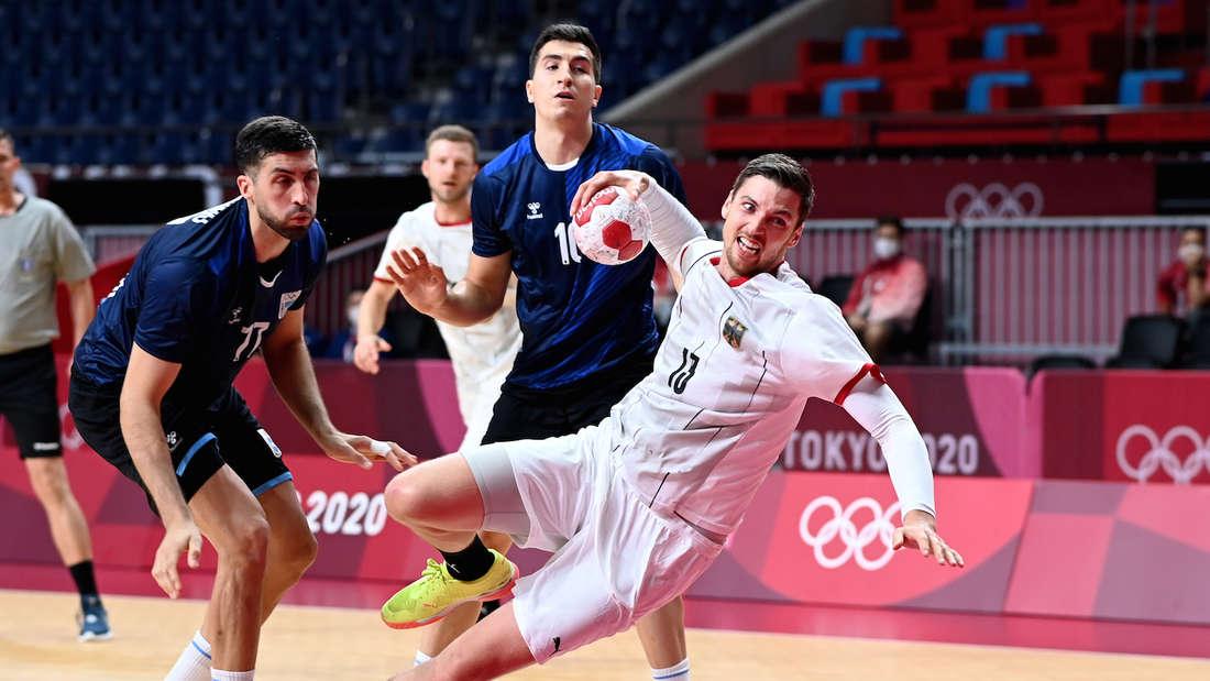 Olympia: Deutschland schlägt Argentinien.