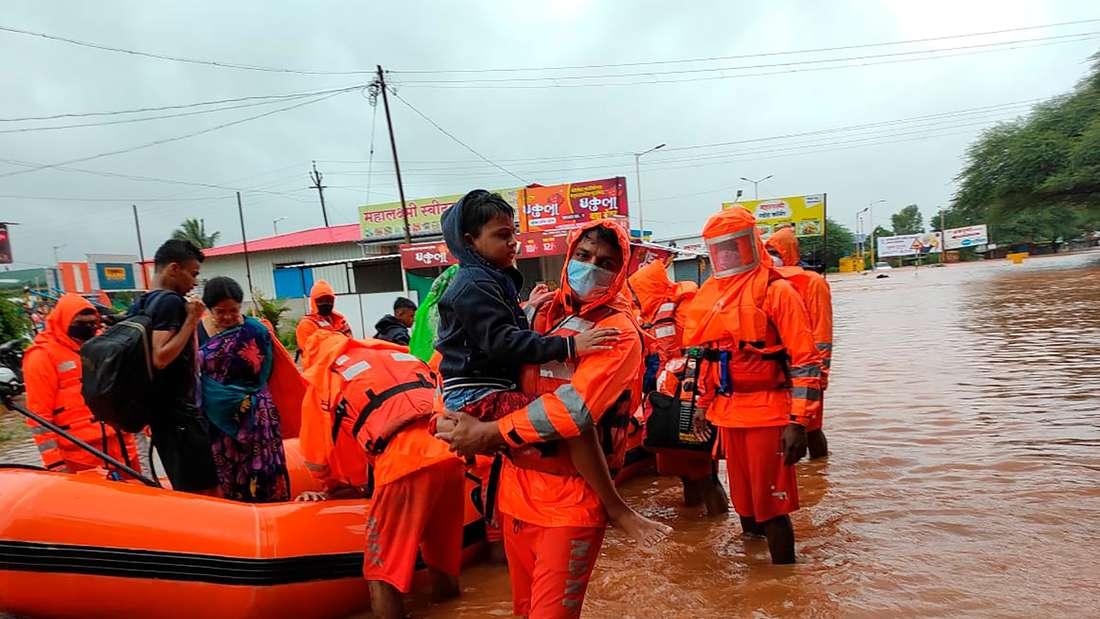 Monsunzeit in Indien